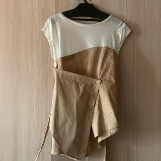 emmi atelier - emmi atelier ☆  変形Tシャツ