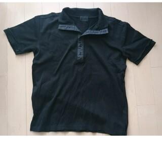 エイエスエム(A.S.M ATELIER SAB MEN)のA.S.M(ATELIER SAB MEN)ブラックトップス(Tシャツ/カットソー(半袖/袖なし))