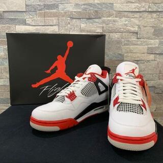 """商品名 : NIKE Air Jordan 4 OG """"Fire Red""""(スニーカー)"""