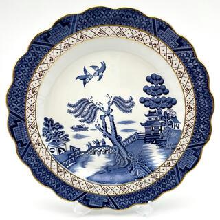 リアルオールドウィロー/ウィローパターン/プレート/西洋陶器/英国食器(食器)