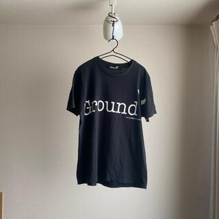 ヨウジヤマモト(Yohji Yamamoto)のGround Y GYロゴグラフィック半袖カットソー 美品(Tシャツ/カットソー(半袖/袖なし))