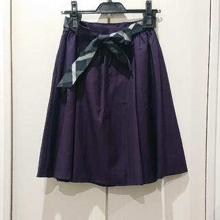 バーバリーブルーレーベル(BURBERRY BLUE LABEL)のBLUE LABEL 未使用 フレアミニスカート(ミニスカート)