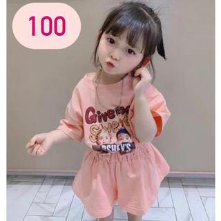 キッズ セットアップ Tシャツ ショートパンツ 女の子 夏服 100