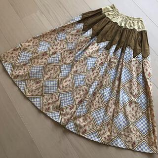 カネコイサオ(KANEKO ISAO)の☆美品 ワンダフルワールド スカート クリーニング済(ロングスカート)