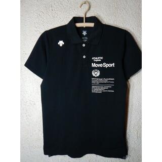 デサント(DESCENTE)のo3008 美品 デサント 半袖 ポロシャツ ムーブスポーツ(ポロシャツ)