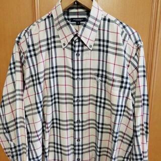 BURBERRY - バーバリーロンドン 長袖シャツ ダメージあり