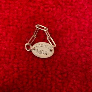 クリスチャンディオール(Christian Dior)の【新品】クリスチャン ディオール ジャドール プレート リング 指輪(リング(指輪))