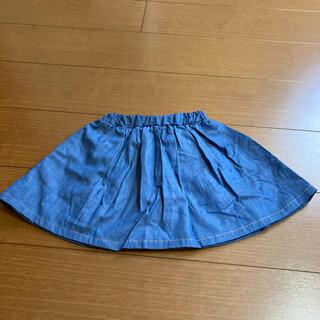 ブリーズ(BREEZE)の【BREEZE】ペチパン付きスカート(90cm)(スカート)