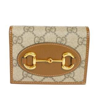グッチ(Gucci)のグッチ ホースビット 1955 カードケース ウォレット GGスプリーム(財布)