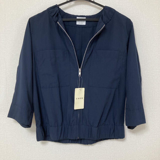 coen(コーエン)のコーエン ジャケット 新品 未使用 レディースのジャケット/アウター(ノーカラージャケット)の商品写真