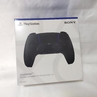 プレイステーション(PlayStation)のPS5 デュアルセンス ミッドナイトブラック 新品未開封(家庭用ゲーム機本体)