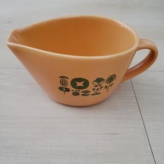 フェリシモ(FELISSIMO)のフェリシモ カレーのルーを入れるような器(オレンジ)(食器)