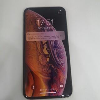 Apple - 【SIMロック解除済】iPhoneXs 64GB ゴールド