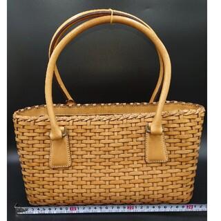 SAZABY - サザビー 革製カゴバッグ