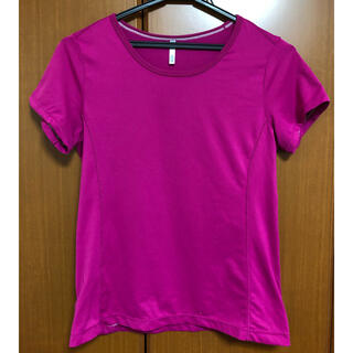ユニクロ(UNIQLO)のユニクロ フィットネス アクティブレディース Tシャツ 速乾(ヨガ)