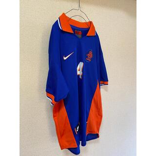 NIKE - 古着 サッカーシャツ ゲームシャツ NIKE