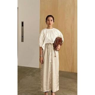 STUDIOUS - CLANE FRONT GATHER RELAX SKIRT スカート クラネ