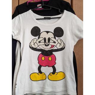 Disney - D24 ミッキーシャツ(古着)