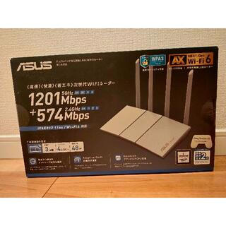 ASUS - 未使用 ASUS RT-AX55/W 11AX Wi-Fi6対応ルーター