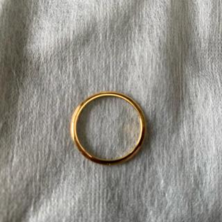 UNUSED - 新品 SIZE 12号 UNUSED UH0377 K18 Gold ring
