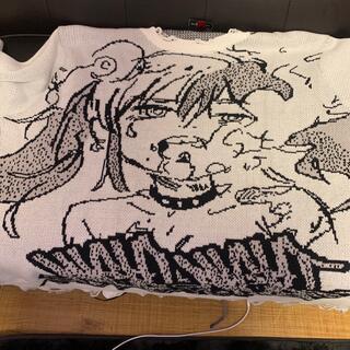シュプリーム(Supreme)のjuninagawa×nightclub ニット(ニット/セーター)
