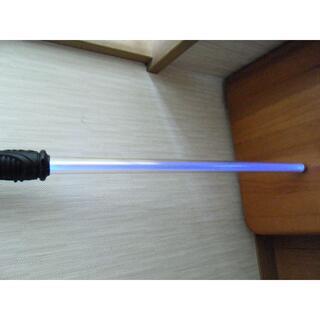 レア スターウォーズ型 SW サウンドライトセイバー ブルー オビワン (小道具)