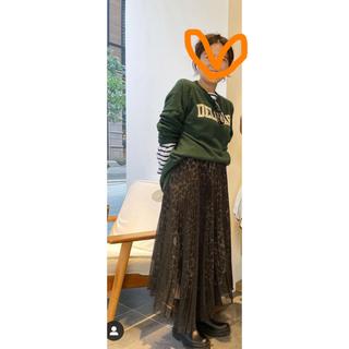 アパルトモンドゥーズィエムクラス(L'Appartement DEUXIEME CLASSE)のアパルトモン 即完売したヒョウ柄スカート(ロングスカート)