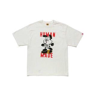 """ジーディーシー(GDC)のHUMAN MADE VERDY T-SHIRT #1 """"White""""(Tシャツ/カットソー(半袖/袖なし))"""