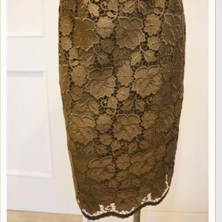 ヌメロヴェントゥーノ(N°21)のヌメロヴェントゥーノ レーススカート(ひざ丈スカート)