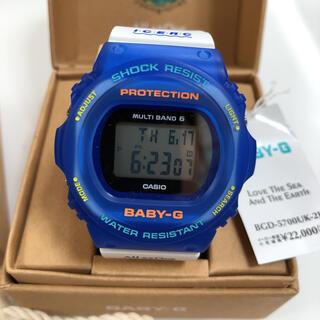 ベビージー(Baby-G)のカシオ ベビーG BGD-5700UK-2JR イルクジ イルカクジラ 時計(腕時計)