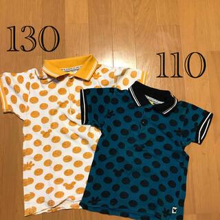 サニーランドスケープ(SunnyLandscape)のポロシャツ ミッキー  2枚セット 130 110(Tシャツ/カットソー)