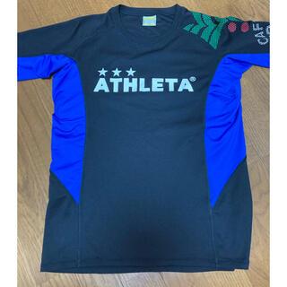 ATHLETA - アスレタ Tシャツ ATHLETA プラクティスシャツ 160 サッカー