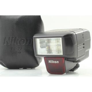 ニコン(Nikon)の(ケース付) ニコン Nikon Speed Light SB-23(ストロボ/照明)