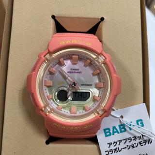 ベビージー(Baby-G)のカシオ ベビーG BGA-280AQ-4AJR アクアプラネット コラボ(腕時計)