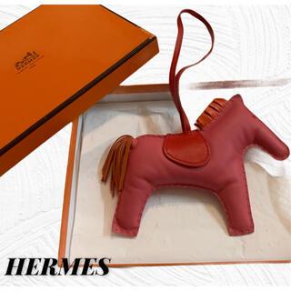 Hermes - エルメス レザー ロデオPM チャーム バッグチャーム