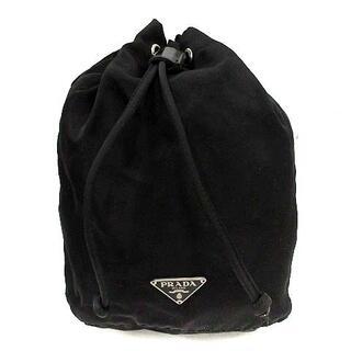 PRADA - プラダ PRADA マルチポーチ 巾着 ナイロン 黒 ブラック