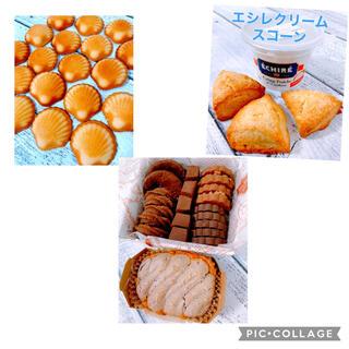 ショコラアソートとマドレーヌとスコーン(菓子/デザート)
