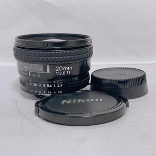 Nikon - 【美品】 Nikon AF NIKKOR 20mm f2.8D