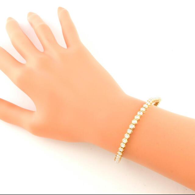 Damiani(ダミアーニ)のDamiani ダミアーニ K18/K18WG ブレスレット ダイヤモンド 値引 メンズのアクセサリー(ブレスレット)の商品写真