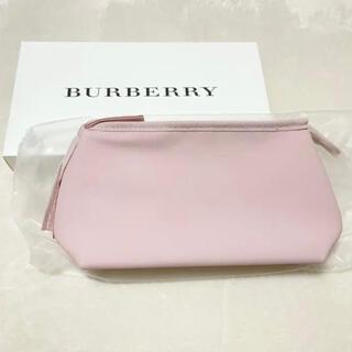 バーバリー(BURBERRY)のBurberry ノベルティーポーチ ピンク 新品未使用(ポーチ)