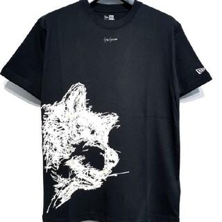 ヨウジヤマモト(Yohji Yamamoto)のヨウジヤマモト ニューエラ コラボ愛犬プリントT 4(Tシャツ/カットソー(半袖/袖なし))