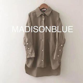 マディソンブルー(MADISONBLUE)のマディソンブルー  J. BRADLEY カフシャツ ベージュ(シャツ/ブラウス(長袖/七分))