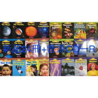 Science Vocabulary Readers自然科学 子供英語絵本(洋書)