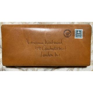 ヴィヴィアンウエストウッド(Vivienne Westwood)のヴィヴィアンウエストウッド エンベロープ 長財布 キャメル(長財布)