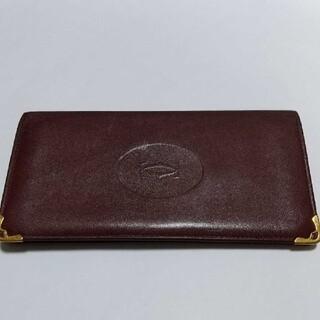 カルティエ(Cartier)の特価 Cartier カルティエ ウォレット カードケース ボルドー  財布(長財布)