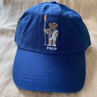 POLO RALPH LAUREN - 【大人気】ポロ ラルフローレンキャップ メンズ帽子  ポロベアキャップ ホワイト