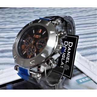 シチズン(CITIZEN)の新品・未使用【ダニエル&ダグラス】DD-8801 クロノグラフ/イタリアブランド(腕時計(アナログ))