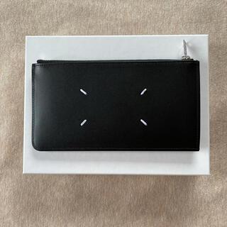 マルタンマルジェラ(Maison Martin Margiela)の21SS新品 メゾン マルジェラ 長財布 カードケース 小銭入れ 黒 メンズ(長財布)