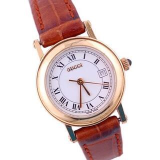 グッチ(Gucci)のグッチ 時計 ウォッチ ヴィンテージ 7200L GP 白文字盤 クォーツ(腕時計)