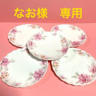 NIKKO - ピンクローズのお皿5枚